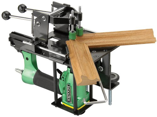 Woodtek 965571, Portable Power Tools, Air, Nailers, Miter Nailer And Clamp Jig Combo