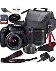 $529 » Canon EOS Rebel T7 DSLR Camera Bundle with Canon EF-S 18-55mm f/3.5-5.6 Zoom Lens + SanDisk 64GB Memory Cards + Accessory Kit