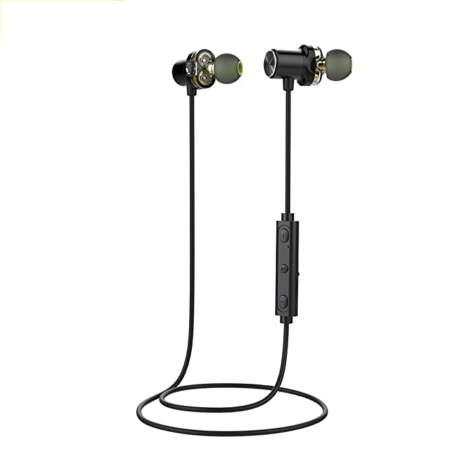 Amazon.com: BDFA Bluetooth Headset,IPX5 Waterproof Sweatproof, Magnetic Secure-Fit Headset,Noise Cancelling Earphones W/Microphone,Best Wireless Headphones ...