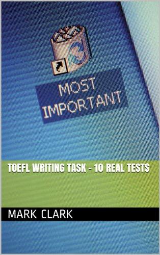 Download TOEFL Writing Task – 10 Real Tests Pdf