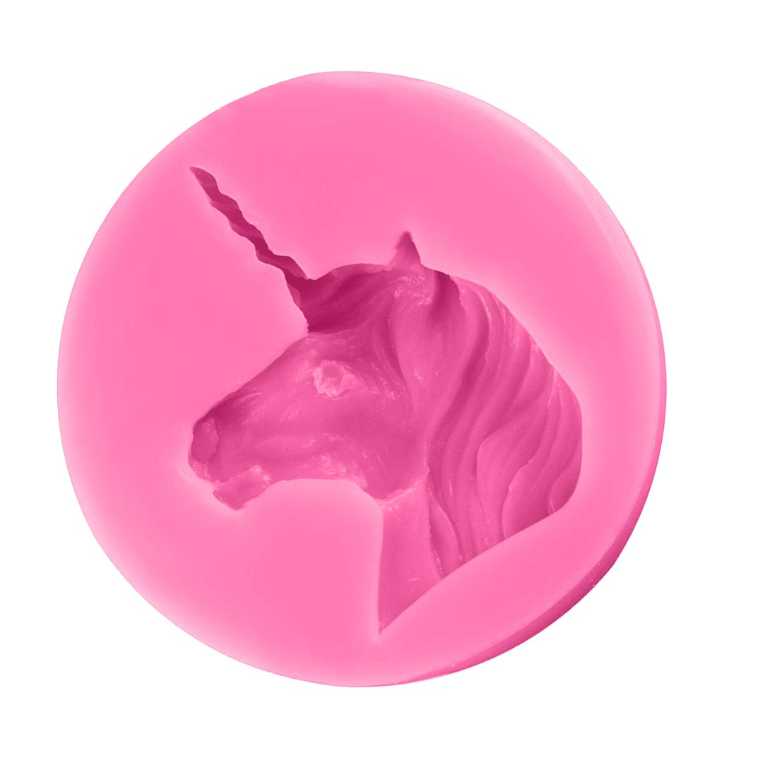Basico 3D Silicone Moule Cheval Forme Moule pour Savon De Bonbons Au Chocolat Glace De D/écoration De G/âteau Outils pour Ustensiles De Bricolage Outils