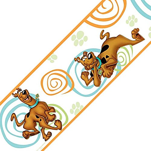 Scooby Doo Peel and Stick Border (Repositionable Ultimate Wall Appliques)