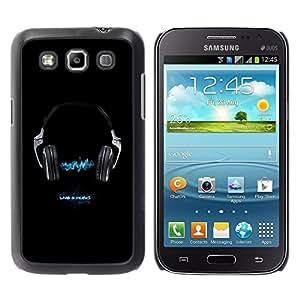 """For Samsung Galaxy Win I8550 , S-type Vivo 4 Música"""" - Arte & diseño plástico duro Fundas Cover Cubre Hard Case Cover"""