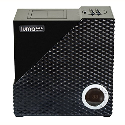 Luma Comfort Bedroom Cool & Warm Mist Humidifier w/ Auto Humidity Control