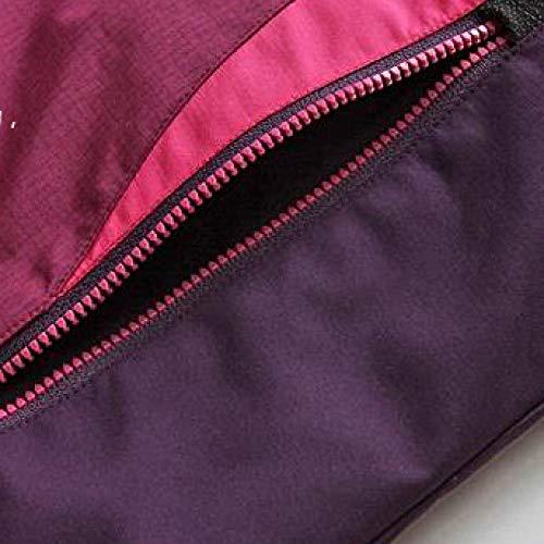 Chaquetas Montaña Y Cremallera Slim Las Para Viento Cálida Gruesas Prueba Purple Superior Chaqueta Escalada A Impermeable Bolsillo De Mujeres Fit Con qHwxZpXBv