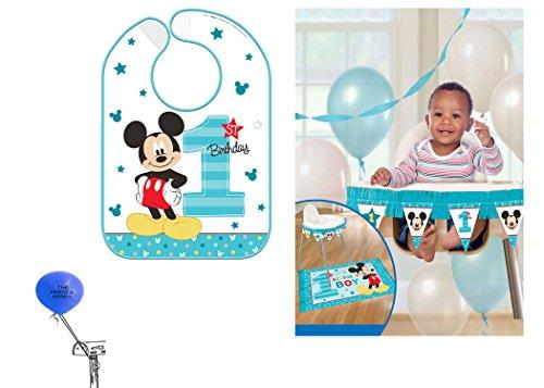 Disneys Mickey Mouse First Birthday Highchair Decorating Kit