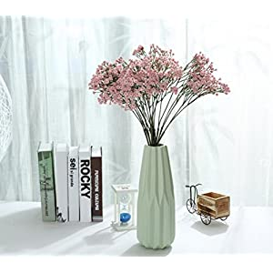 Miracliy 6pcs Gypsophila Artificial Flowers 26'' PU Baby Breath Artificial Flowers for Wedding Party Home Decor 62