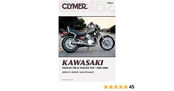 Kawasaki Vulcan 700 Vulcan 750 1985 2006 Clymer Manuals Motorcycle Repair Penton Staff 0024185908531 Amazon Com Books