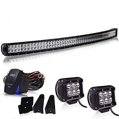 Spead-Vmall Led Light Bar Curved 54
