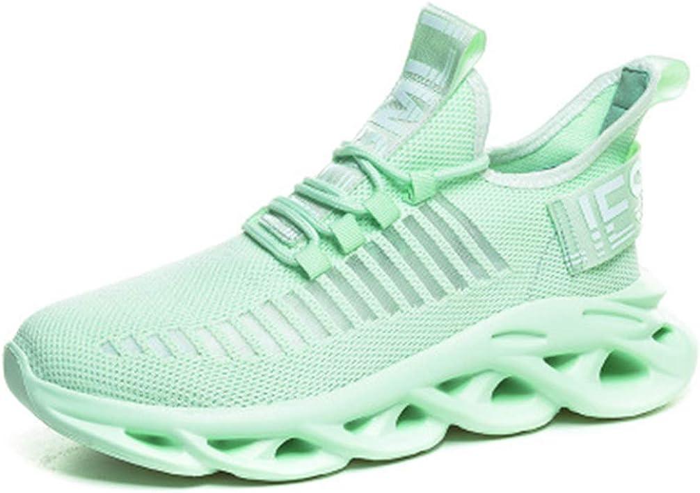 mofeng - Zapatillas de Running para Hombre, Deportivas, para Caminar, Gimnasio, Fitness, Correr, atlético, Casual