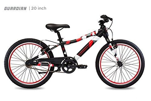 Guardian Lightweight Kids Bike 20 Inch, Safe Patented SureStop Brake System, Kids Mountain Bike