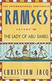 The Lady of Abu Simbel, Christian Jacq, 0446673595