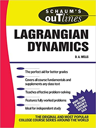 Schaum's Outline of Lagrangian Dynamics: Dare A  Wells