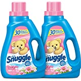 Snuggle Liquid Fabric Softener with Fresh Release, Fresh Spring Flowers, 48 Fluid Ounces (Pack of 2)