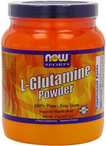 Now Foods L - Glutamine Powder, 1 kg ( 2.2lbs)