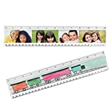 Plastic DIY Photo Ruler - Case of 50