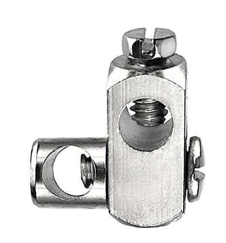 Cornat tec317410bloque-tirette de lavabo MS nickelé Conmetall