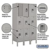 Standard Metal Locker Triple Tier 3 Feet Wide 5