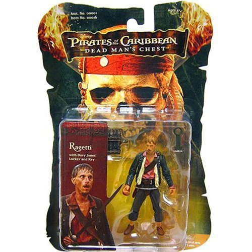 (Zizzle Pirates of the Caribbean Dead Man's Chest Ragetti Action Figure)