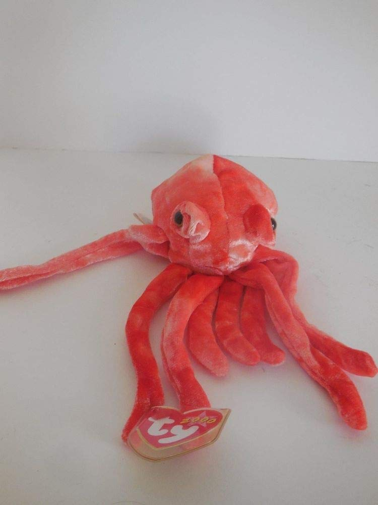 Ty Beanie Babies - Wiggly the Squid