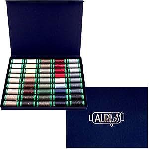 Aurifil Best Selection Box Thread Kit 40wt Cotton 45 Small (164 yard) Spools
