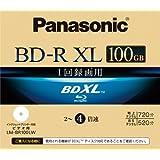 Panasonic Blu-ray Disc - BD-R XL 100GB 4x Speed 1 Pack Printable - Triple Layer (japan import)
