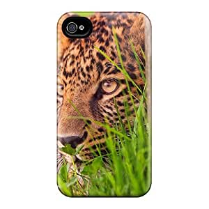 New Diy For HTC One M7 Case Cover Covers Casing(lovely Leopard)