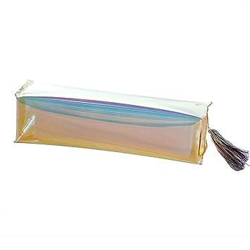 8c7016f441ca Amazon.com : Women Clutch Bag Foviza Travel Cosmetic Bag PVC Clear ...