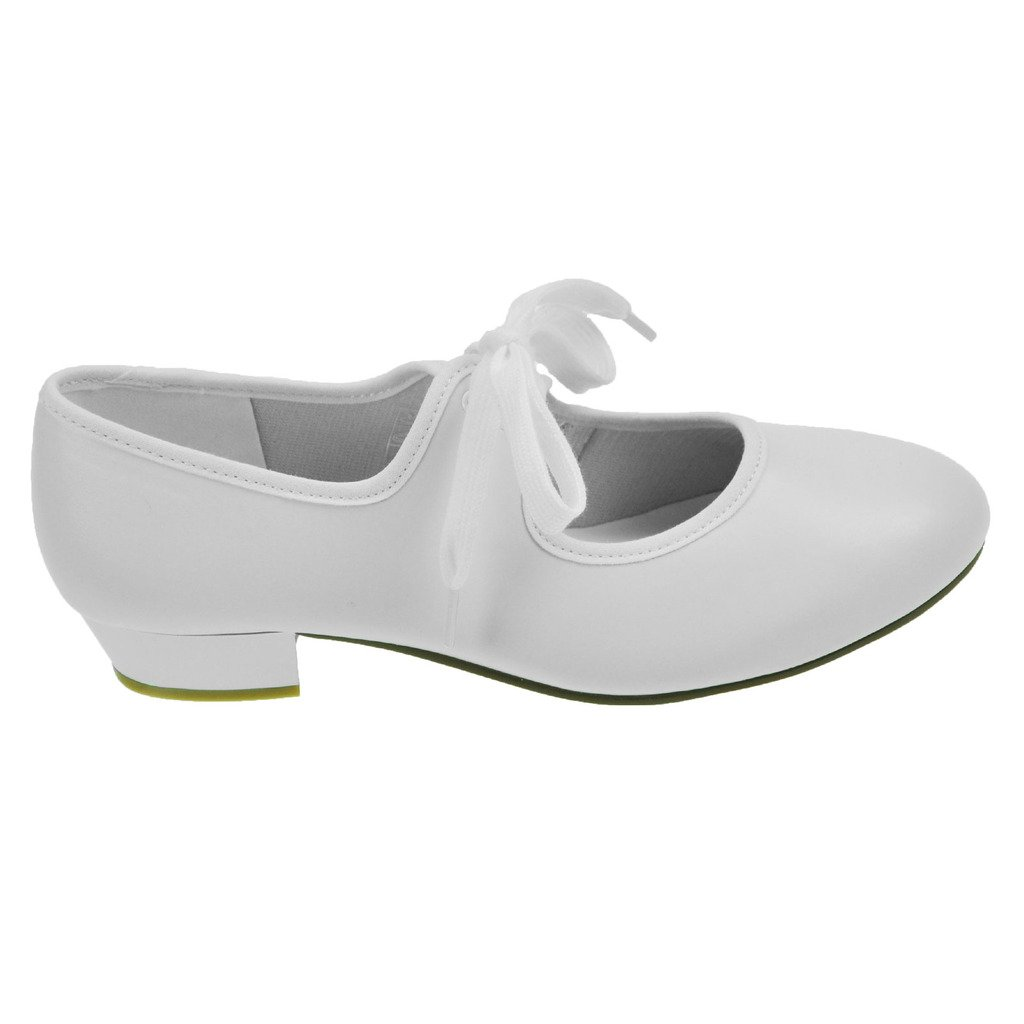 Starlite Riff PU Tap Shoes, Low Heel