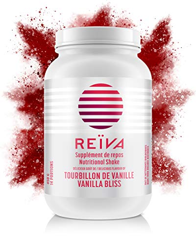 REÏVA Beet Root Powder Meal Replacement Shakes | Natural, Organic Supplement | Nitric Oxide Booster, Lean Muscle Builder, Fat Burning Support, Appetite Suppressant | Vanilla Flavor - 450g