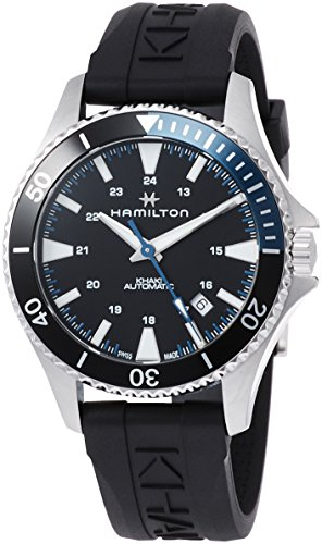 Hamilton H82315331 Khaki Navy Scuba Men's Watch Black 40mm Stainless Steel