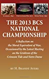 2013 Bcs National Championship, H. Brandt Ayers, 1603062734