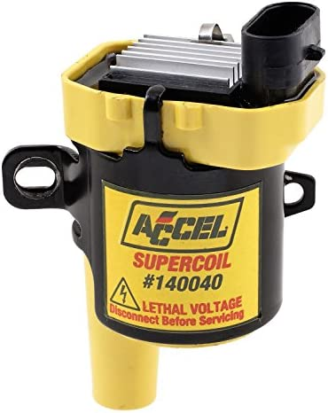 ACCEL 140040ACC Ignition SuperCoil, Yellow