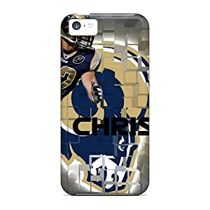 Iphone 5c Case, Premium Protective Case With Awesome Look - St. Louis Rams