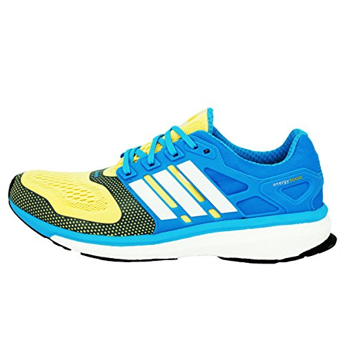 best sneakers fc4ed 78121 ... Corsa Da Per Energy Adidas Uomo Techfit 2 Giallo Performance Esm Blu Boost  Scarpe Running ...
