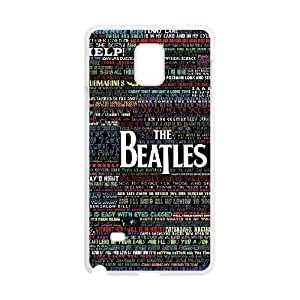 The Beatles Unique Design Cover Case with Hard Shell Protection for Samsung Galaxy Note 4 Case lxa#343941