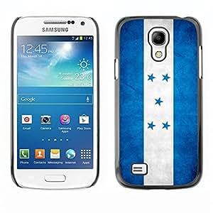 Shell-Star ( National Flag Series-Honduras ) Snap On Hard Protective Case For Samsung Galaxy S4 MINI / i9190 / i9192