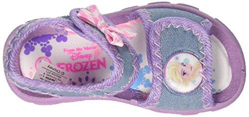 Disney Mädchen S19482z/Az Peeptoe Sandalen Blu (Jeans)