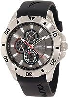 Nautica Men's N14609G NST 06 Multifunction Black Resin Strap Watch by Nautica