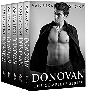 book cover of Donovan Romance Series Box Set