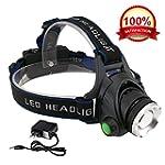 KOLPCTT Rechargeable Headlamp LED, 3...