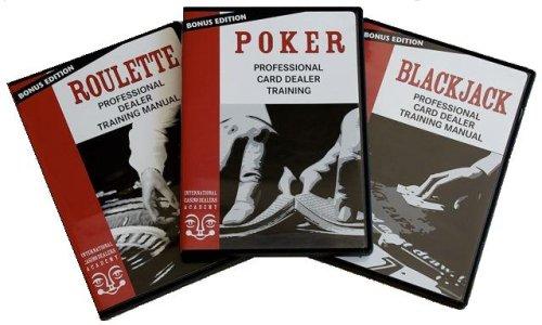 Easy Professional Casino Dealer Job Training Set: Poker/Roulette/BlackJack (Sets Poker Professional)