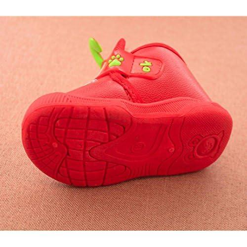 a7910ca278e4b WARMSHOP Lovely Children Baby Flock Warm Shoes Cartoon Animation ...