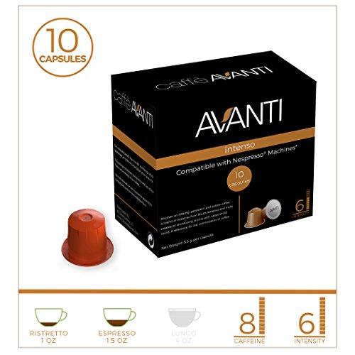 Avanti Nespresso compatible capsules Espresso