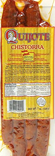 Quijote Authentic Spanish Chistorra 7 Oz