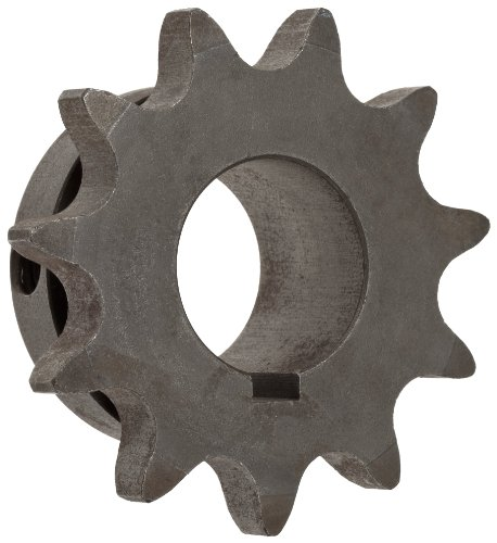 38 Dia Steel Roller - Martin Roller Chain Sprocket, Bored-to-Size, Type B Hub, Single Strand, 50 Chain Size, 0.625