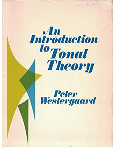 Book An Introduction to Tonal Theory