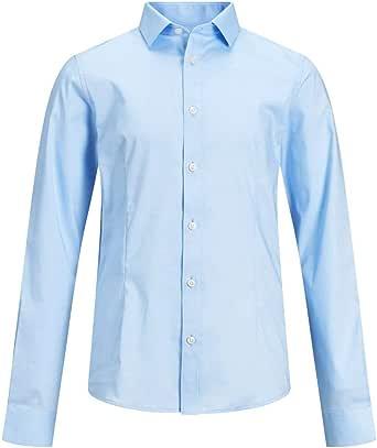 Jack & Jones Jprparma Shirt L/S Jr STS Camisa para Niños