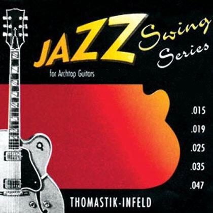 Thomastik JS110 juego de cuerdas para Jazz Swing de gran calibre Flatwound 10: Amazon.es: Instrumentos musicales