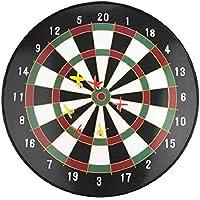 "17"" Magnetic Dartboard Dart Board with 6 Darts Large Adult Kids Safety Dartboard"